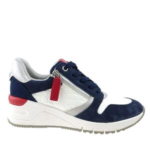 Tamaris 23702 white/navy com
