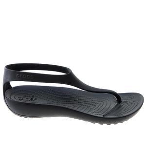 27877185fbb3d Buty na lato damskie Sandały Crocs Serena Sandal W 205469-060 czarny ...
