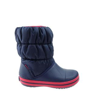 Śniegowce Crocs Winter Puff Boot Kids 14613-485 navy/red