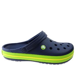 Klapki Crocs Crocband 11016 navy/volt green/lemon