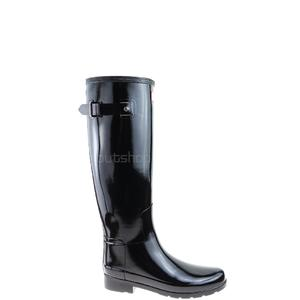 Kalosze HUNTER WFT1071RGL original tall refined gloss black