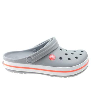 Klapki Crocs Crocband 11016 light grey/bright coral