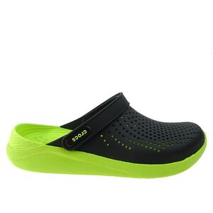 Klapki Crocs Literide Clog 204592-0GU black/lime punch