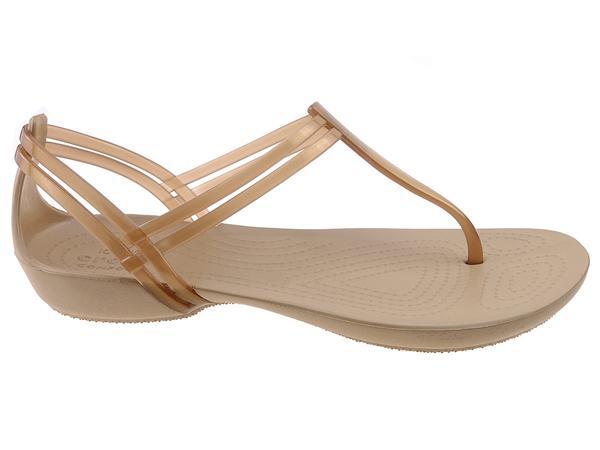 Buty na lato damskie Japonki Crocs Isabella T Strap 202467