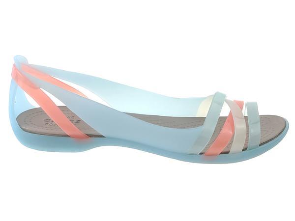 Buty na lato damskie Sandały Crocs Isabella huarache 2 flat