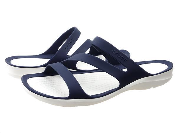 Buty na lato damskie Klapki Crocs Swiftwater Sandal W 203998