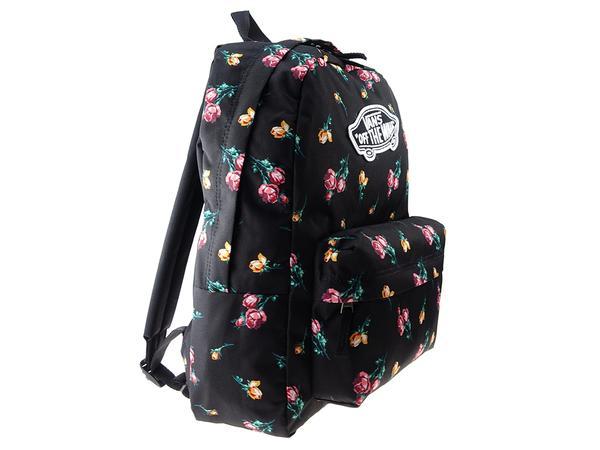 Nowa kolekcja w sprzedaży hurtowej gorące produkty Torby Plecak Vans Realm Backpack Black Rose VN0A3UI6UV31 ...